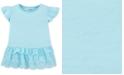 Carter's Toddler Girls Blue Eyelet Peplum Top