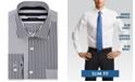 Tommy Hilfiger Men's Slim-Fit Multi-Stripe Dress Shirt