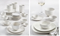 Tabletops Unlimited Inspiration by Denmark Soft Square 42 Pc. Dinnerware Set, Service for 6
