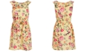 Charter Club Little Girls Mommy & Me Floral-Print Dress, Created For Macy's