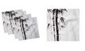 "Ambesonne Bamboo Set of 4 Napkins, 12"" x 12"""