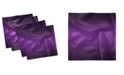 """Ambesonne Ombre Set of 4 Napkins, 12"""" x 12"""""""