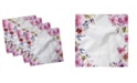 """Ambesonne Floral Set of 4 Napkins, 12"""" x 12"""""""