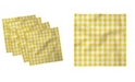 """Ambesonne Country Picnic Set of 4 Napkins, 12"""" x 12"""""""