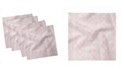 """Ambesonne Victorian Girly Set of 4 Napkins, 12"""" x 12"""""""