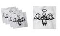 "Ambesonne Halo Set of 4 Napkins, 12"" x 12"""