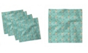 "Ambesonne Owl Print Set of 4 Napkins, 18"" x 18"""