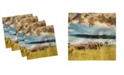 "Ambesonne Safari Set of 4 Napkins, 18"" x 18"""