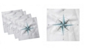 "Ambesonne Compass Set of 4 Napkins, 18"" x 18"""