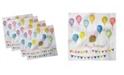 """Ambesonne Birthday Set of 4 Napkins, 18"""" x 18"""""""