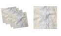 "Ambesonne Ikat Shape Set of 4 Napkins, 18"" x 18"""