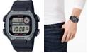 Casio Men's Digital Black Resin Strap Watch 50.4mm