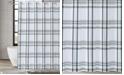 "London Fog Kent Plaid Shower Curtain, 72"" x 72"""