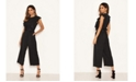 AX Paris Women's Polka Dot Frill Panel Jumpsuit