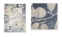 """Global Rug Designs Brighton Bri03 Blue 6'7"""" x 9'10"""" Area Rug"""