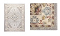 "Global Rug Designs Barnes Bar03 Gray and Ivory 5'3"" x 7'3"" Area Rug"