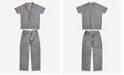 Disney Minnie Mouse Notched Collar Women's Pajama 2 Piece Set