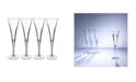 Villeroy & Boch Purismo Special Flute Champagne Glass, Set of 4