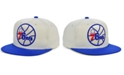 Mitchell & Ness Philadelphia 76ers Natural XL Snapback Cap