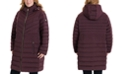 Michael Kors Plus Size Hooded Packable Puffer Coat, Created for Macy's