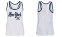 5th & Ocean Women's New York Yankees Pinstripe Tank