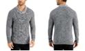 Tasso Elba Men's Chunky Marbled Shawl Sweater, Created for Macy's