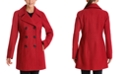 Anne Klein Double-Breasted Peacoat, Created for Macy's