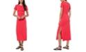 Michael Kors Plus Size Maxi T-Shirt Dress