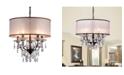 """Home Accessories Scott 21"""" 6-Light Indoor Chandelier with Light Kit"""