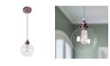 "Home Accessories Shimar 12"" 1-Light Indoor Chandelier with Light Kit"