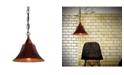 "Home Accessories Willa 14"" 1-Light Indoor Chandelier with Light Kit"