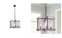"""Home Accessories Pierre 20"""" 4-Light Indoor Chandelier with Light Kit"""