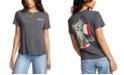 RVCA Juniors' Tourist Trap Cotton Graphic T-Shirt