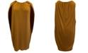 Alfani Plus Size Cape Dress, Created for Macy's