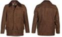 Schott NYC Men's Nubuck Cowhide Barn Coat