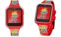 Accutime Kid's Ryan's World Multicolored Silicone Strap Smart Watch 46x41mm