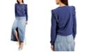 INC International Concepts INC Ruffled Star Sweatshirt, Created for Macy's