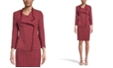 Kasper Tweed Fringe Jacket, Regular & Petite Sizes