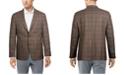 Lauren Ralph Lauren Men's Classic-Fit Ultraflex Stretch Brown Plaid  Sport coat