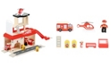 Legler USA Small Foot Wooden Toys Fire Station Playset
