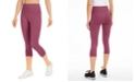 Ideology High-Rise Cropped Side-Pocket Leggings, Created for Macy's