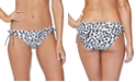 Raisins Juniors' Eco-Capsule Spot On Printed Tie-Side Bikini Bottoms