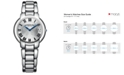 Raymond Weil Women's Swiss Jasmine Stainless Steel Bracelet Watch 35mm 5235-ST-01659