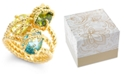 Charter Club Stone Trio Rope Ring in Gold Plate, Created for Macy's
