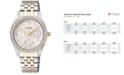 Citizen Women's Two-Tone Stainless Steel Bracelet Watch 32mm ED8134-50A