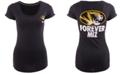 Nike Women's Short-Sleeve Missouri Tigers Scoop-Neck T-Shirt
