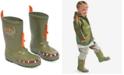 Kidorable Little Boys' Dinosaur Rain Boots