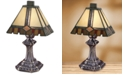 Dale Tiffany Castle Cut Accent Table Lamp