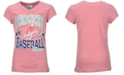 Majestic Girls' Los Angeles Dodgers Pink T-Shirt