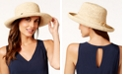 Dorfman Pacific Scala Roll Up Sun Hat